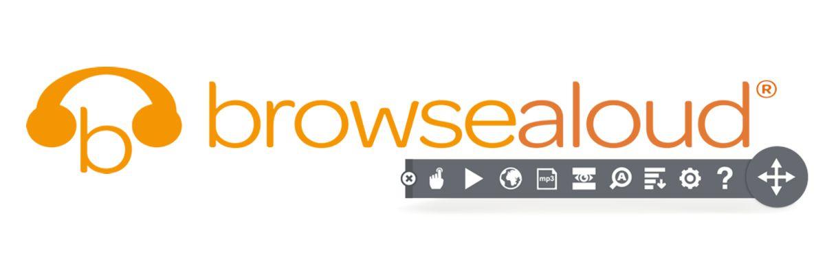 browsealoud logo + toolbar