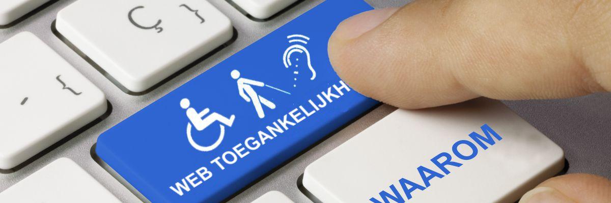 """toetsenbord web toegankelijkheid met tekst """"waarom"""""""